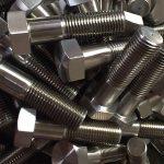 nickel alloy 600 en 2.4816 schraubenradbolzen din931chinese lieferant