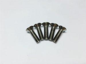 M3, M6 Titanflanschschrauben mit Innensechskantkopf Titanflanschschrauben für die Wirbelsäulenchirurgie