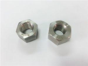 Nr.108-Hersteller Speziallegierung Befestigungselemente Hastelloy C276 Muttern