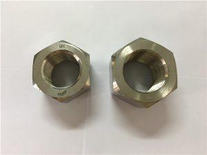 No.111-Manufacture Nickel-Legierung A453 660 1.4980 Sechskantmuttern