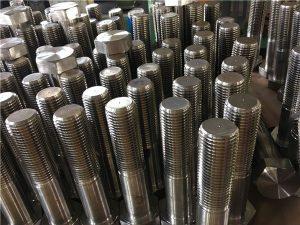 Nr. 12-Sechskantschrauben ISO4014 mit Halbgewinde A193 B8, B8M, B8T, B8C SS-Befestigung