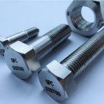Nickel-Legierung monel400 Stahl Preis pro kg Stiftschraube Muttern Schraubverschluss en2.4360