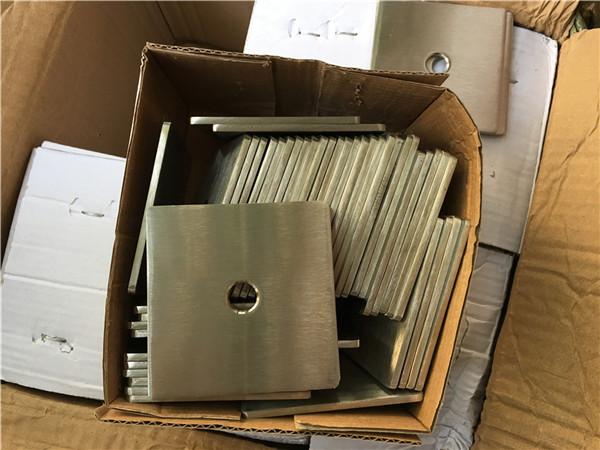 Kundenspezifische Super Duplex S32205 (F60) Edelstahl Vierkantplatte Unterlegscheibe / Verschluss
