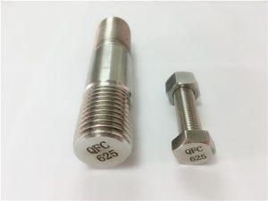 Nr. 71-625 Inconel-Verbindungselemente in Nickel