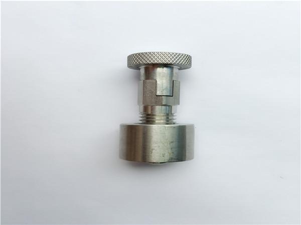 ss304, 316l, 317l, ss410 schlittenschraube mit rundmutter, nicht standardmäßige befestigungen