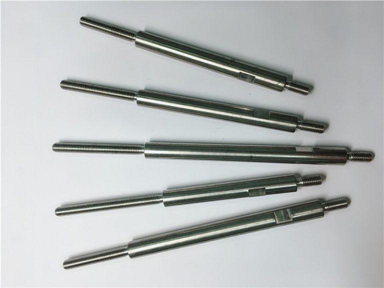 CNC-Präzisionsbearbeitung von Edelstahl-Gewindebefestigungen