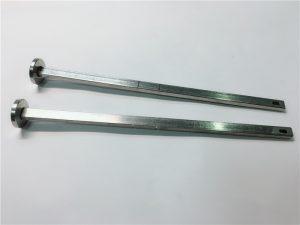 Hardware-Verschluss Lieferant 316 Edelstahl Flachkopf Vierkant-Hals Din603 m4 Schlittenschraube